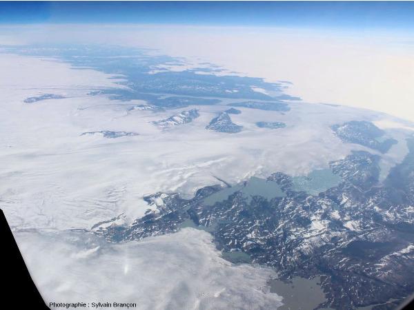 Arrivée sur la côte Ouest du Groenland (vers 63° lat. N)
