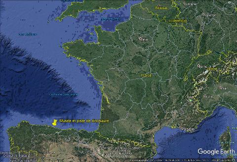 Localisation de Colunga, du MUJA et de la plage à pistes de dinosaures sur la côte des Asturies en Espagne