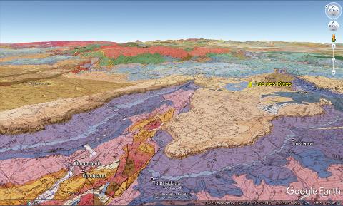 Cadre géologique du lac des Rives (Larzac, Aveyron)