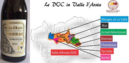 Les différents crus de la DOC Vallée d'Aoste