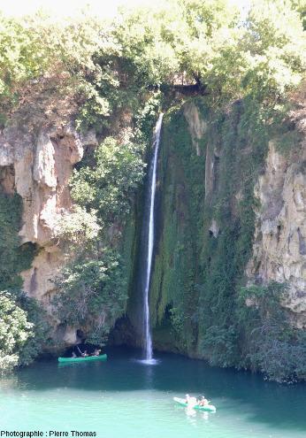 La cascade des Baumes, Saint-Rome-de-Tarn (Aveyron)