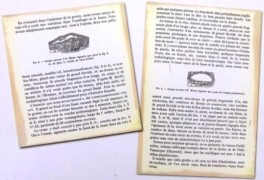 Compte-rendu de fouille écrite par les frères Bouyssonie