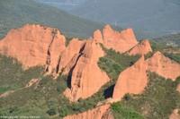 Deux mines d'or romaines en Espagne: Las Médulas (Castille et Léon) et Montefurado (Galice)