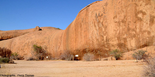 Le site de Small Bushman Paradise, Namibie