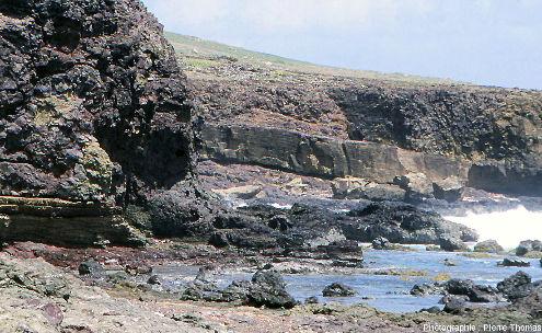 Les ophiolites de la pointe Est de La Désirade, Guadeloupe