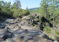 Balade sur les grès triasiques du Bas-Vivarais ardéchois