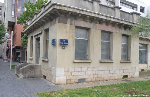 Ancien pavillon des abattoirs de Lyon situés dans le quartier de Gerland (7ème arrondissement)