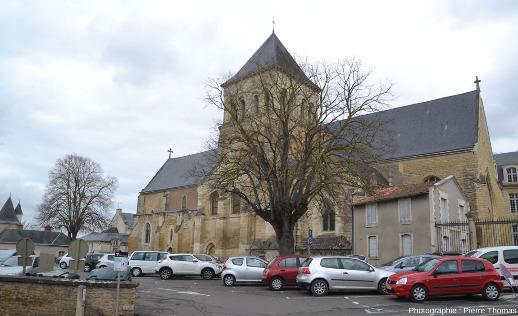 L'église Saint Laon à Thouars (Deux-Sèvres)