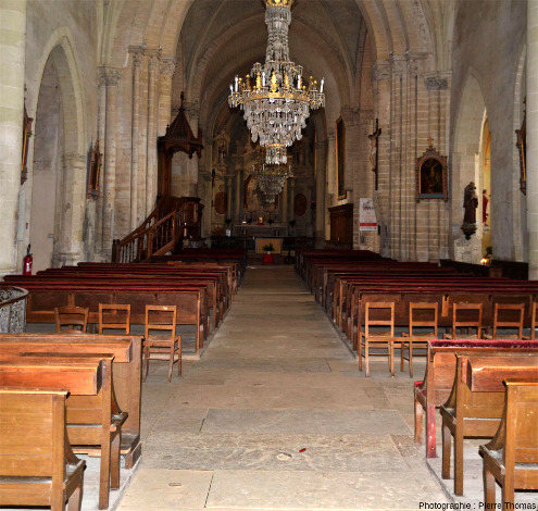 Nef de l'église Saint Laon de Thouars