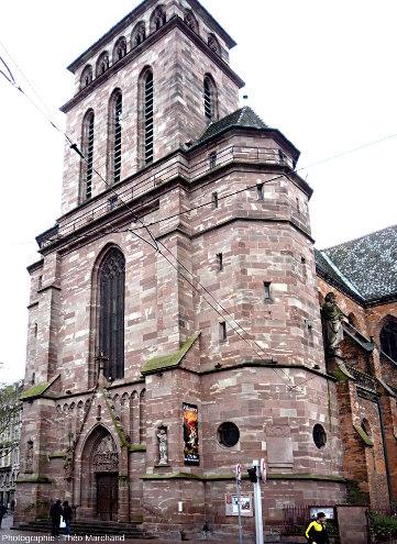 Église Saint-Pierre-Le-Vieux à Strasbourg, construite en grès rose des Vosges