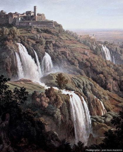 Les paysages des cascades pétrifiantes de Tivoli étaient une destination de choix pour les premiers touristes du XIXe siècle