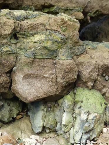 La Malière, formation de la base de la falaise au Nord
