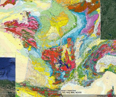 Localisation de la Pointe du Chay dans le Jurassique supérieur du Nord-Ouest du Bassin aquitain, sur la côte charentaise