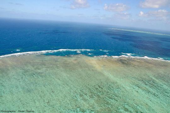 """La """"côte"""" Est-Sud-Est de Moore Reef, Grande Barrière de Corail, Australie"""