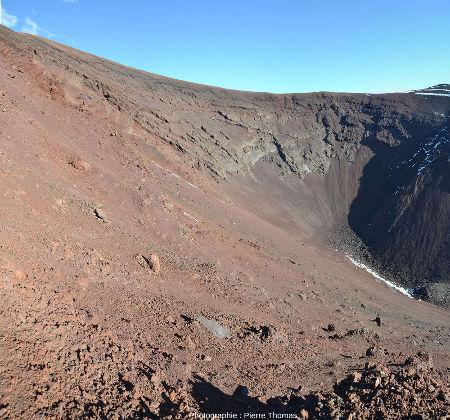 Détail du cratère de la figure précédente