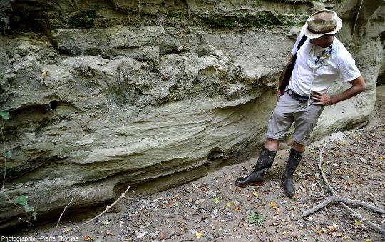 Chenaux et stratifications obliques pluridécimétriques