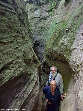 En remontant la branche Nord du canyon