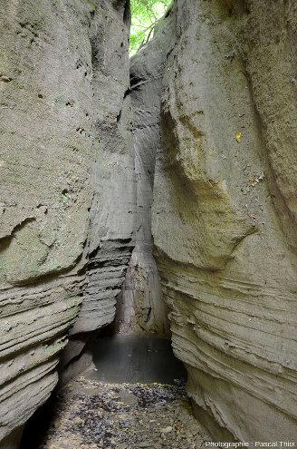 En remontant la branche Est du canyon