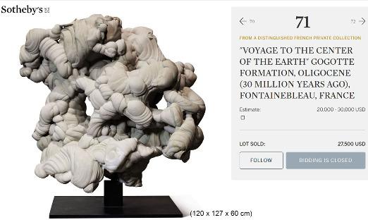 Les gogottes sont devenues tellement à la mode qu'elles peuvent atteindre des prix très élevés lors de ventes aux enchères