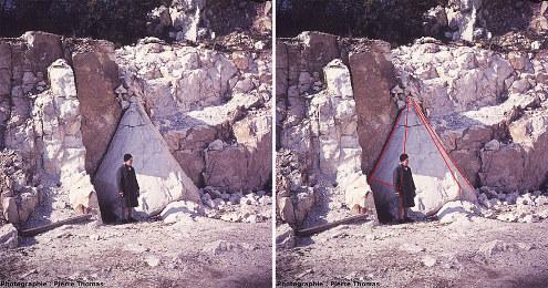 Le cristal géant de quartz de Saint-Paul-la-Roche en 1976