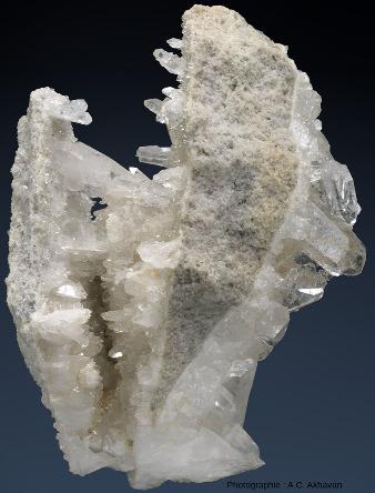 Échantillon (10cm de long) venant de la Clear Creek Mine, Arkansas