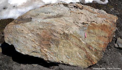 Zoom arrière sur le bloc rocheux où ont été prises les photos précédentes