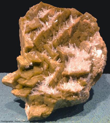 Quartz et sidérite sont souvent associés dans les filons alpins