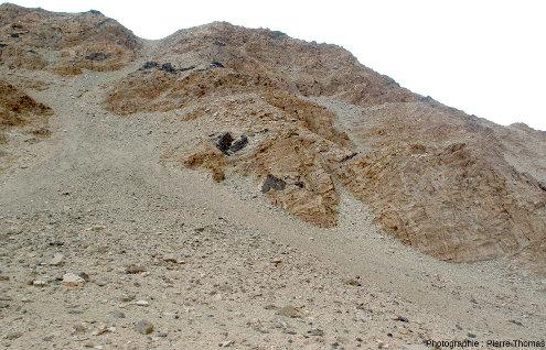 Boudins basiques dans les montagnes du Tso Morari, Ladakh