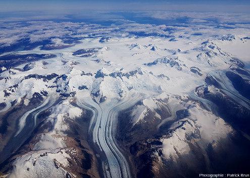 Champ de glace Nord de Patagonie, du Sud au Nord, vue 1/7