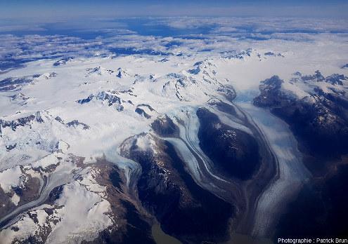 Champ de glace Nord de Patagonie, du Sud au Nord, vue 2/7