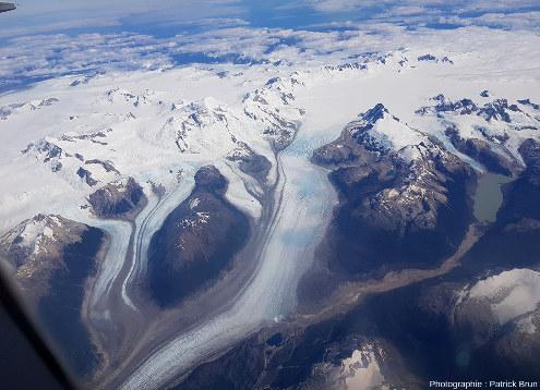 Champ de glace Nord de Patagonie, du Sud au Nord, vue 3/7