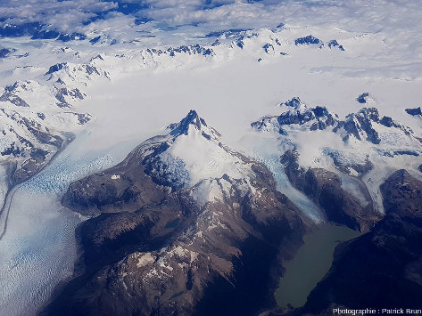 Champ de glace Nord de Patagonie, du Sud au Nord, vue 4/7
