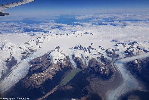 Champ de glace Nord de Patagonie, du Sud au Nord, vue 5/7