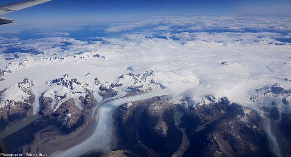 Champ de glace Nord de Patagonie, du Sud au Nord, vue 6/7