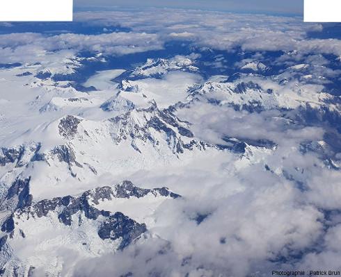 Autre vue sur la terminaison Nord du Champ de glace Nord de Patagonie
