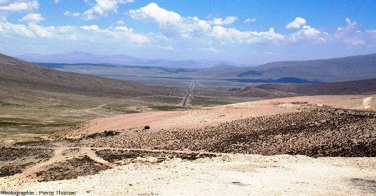 Paysage typique de l'Altiplano (Pérou)