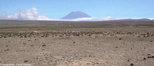 Dominant l'Altiplano, le volcan El Misti (5822m), Pérou