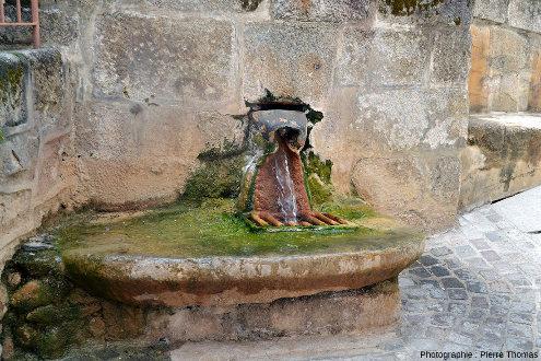 La source du Par à Chaudes-Aigues, Cantal