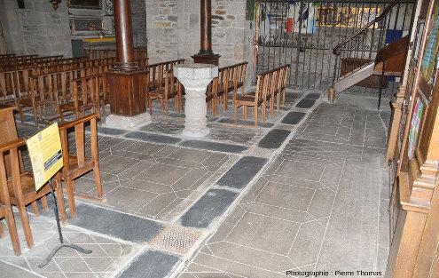 L'intérieur de l'église de Chaudes-Aigues, Cantal