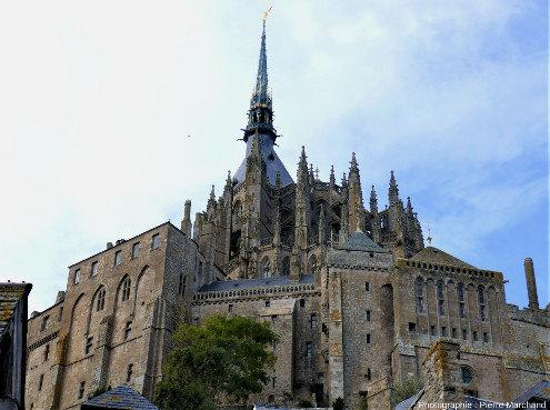 Les bâtiments du Mont-Saint-Michel