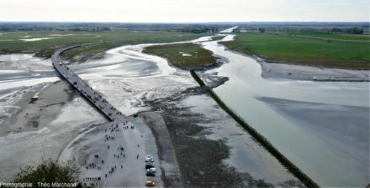 Les aménagements visant à désencercler le Mont-Saint-Michel
