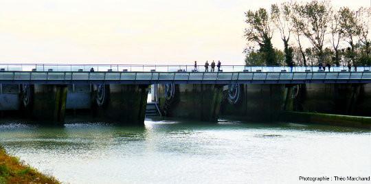 Le barrage du Couesnon
