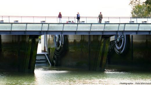Les vannes du barrage du Couesnon