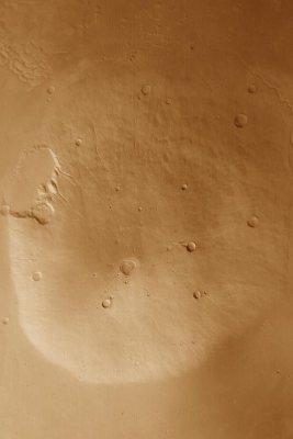 Vue générale d'Hecates Tholus