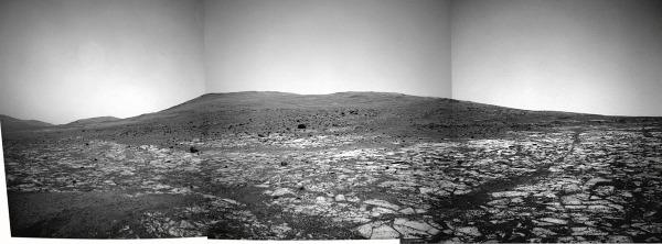 Au pied de Solander Point, sol 3389