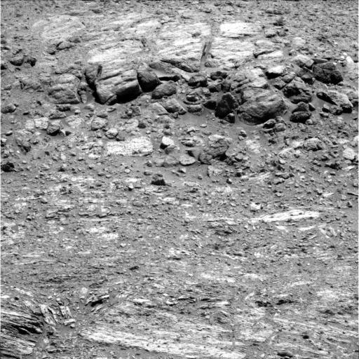 Autre zom pris par la caméra panoramique le sol 3412 (31 août 2013) au pied du gradin