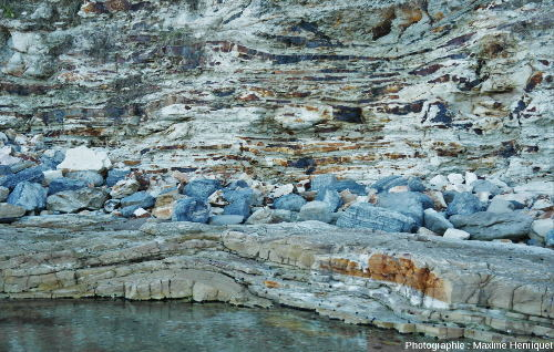 Mamelons de houle (HCS) à moyenne et grande longueur d'onde, Swansea Heads (Australie)