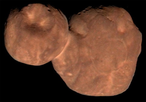 L'objet transneptunien 2014 MU 69, officieusement (et provisoirement) nommé Ultima Thulé