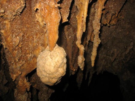 "Butmas-Fapon : stalactite ""variable"""