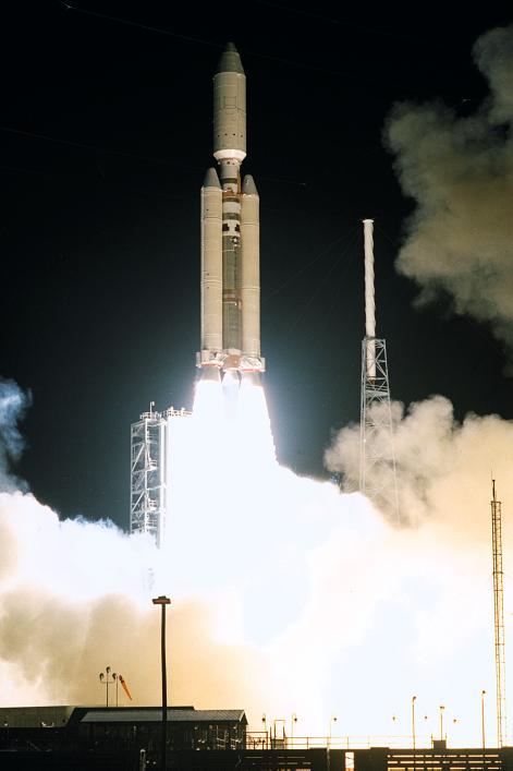 Lancement des sondes Cassini-Huygens (NASA-ESA) le 15 octobre 1997